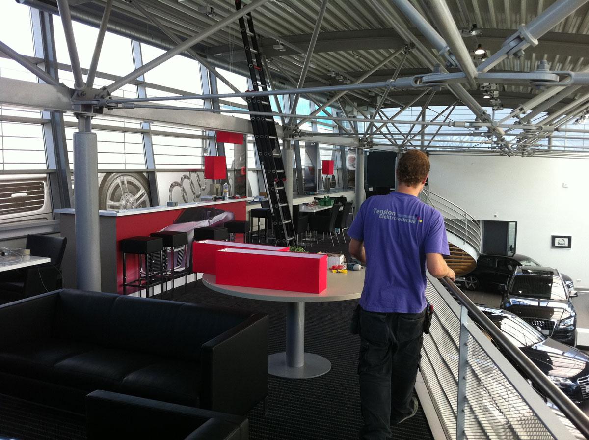 Badkamer Hoofddorp : Projecten - Tension Elektrotechniek