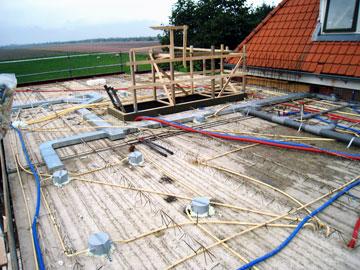 Stortbouw particulier woonhuis| Tension Elektrotechniek Hoofddorp Haarlemmermeer